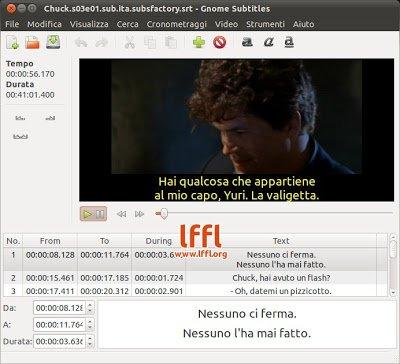 Installare Gnome Subtitles 1 1 su Ubuntu 10 10 - 10 04