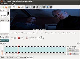 Non linear video editor resume
