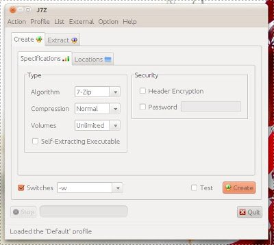 J7Z - Alternativa a 7Zip su Linux - Lffl org