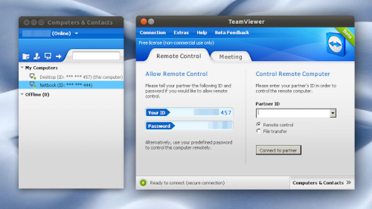 Rilasciato TeamViewer 7 Beta per Linux - Lffl org