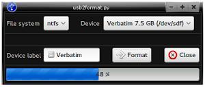 usb2format
