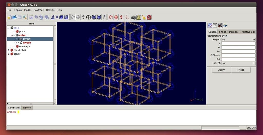 Brl Cad Software Per Il Disegno Tecnico 3d Per Linux