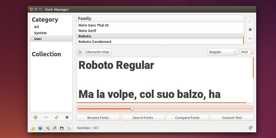 Installare i font di Android L in Linux - Lffl.org Ubuntu Font Android