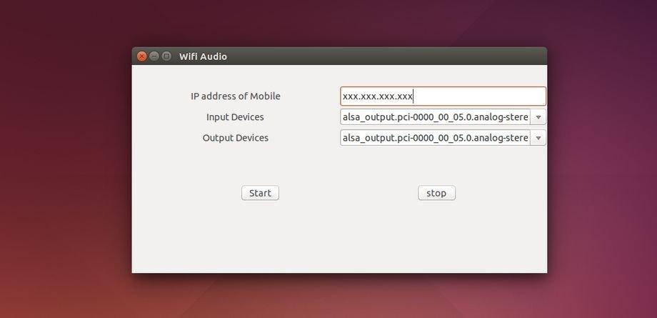 wifiaudio-ubuntu