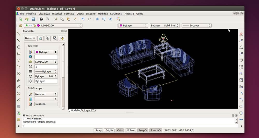 Draftsight si aggiorna alla versione v1r5 2 for Software per disegno 3d
