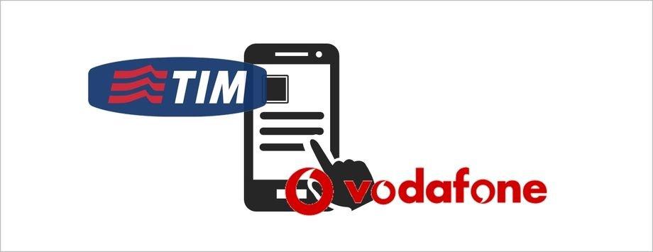 Da oggi alcuni servizi tim e vodafone sono a pagamento for Disattivare servizi a pagamento tim