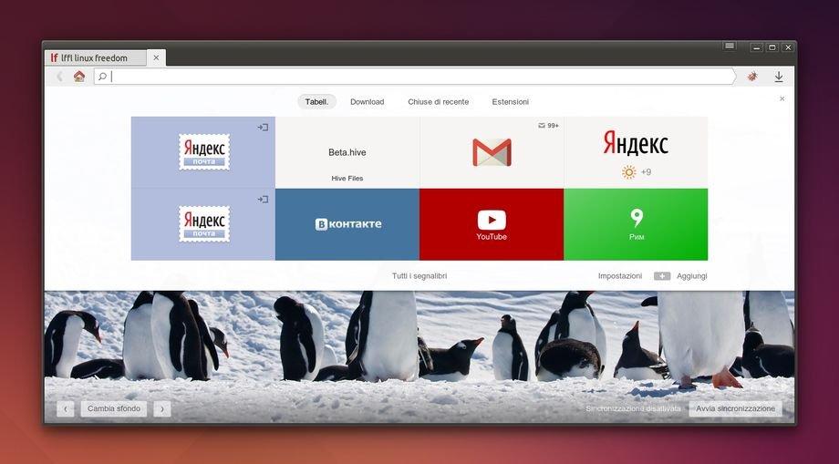 Yandex Browser disponibile per Linux - Lffl org