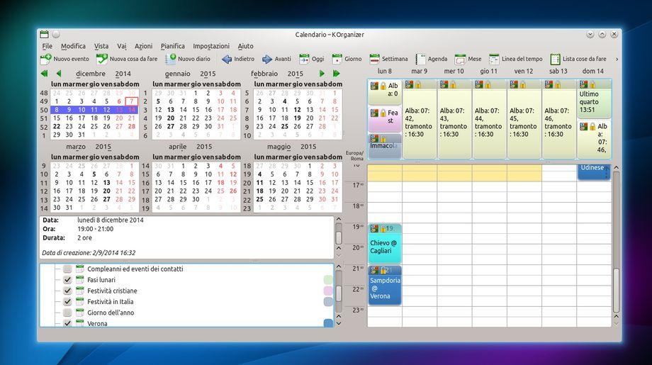 korganizer-google-calendar