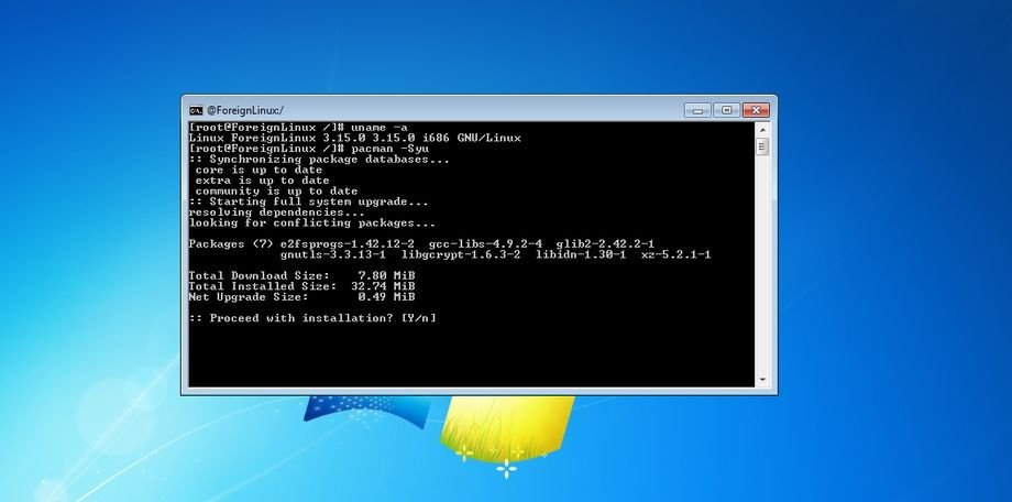 foreign-linux-windows