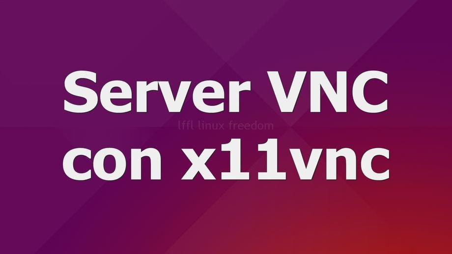 server-vnc-x11vnc