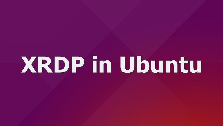 xrdp-ubuntu