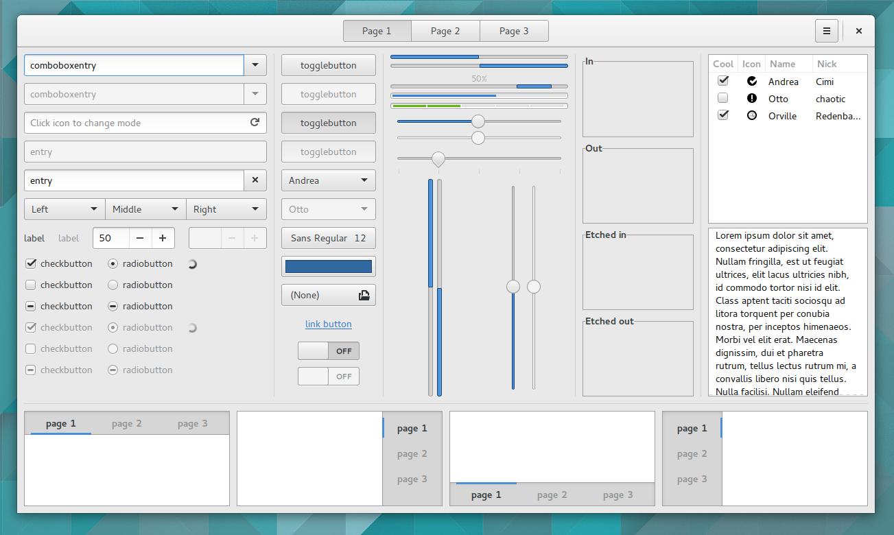 GTK+ toolkit-1
