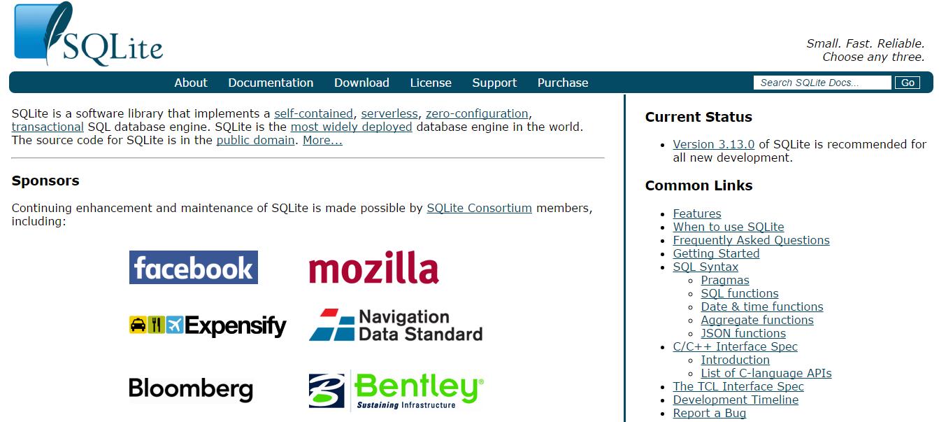 SQLite 3.13