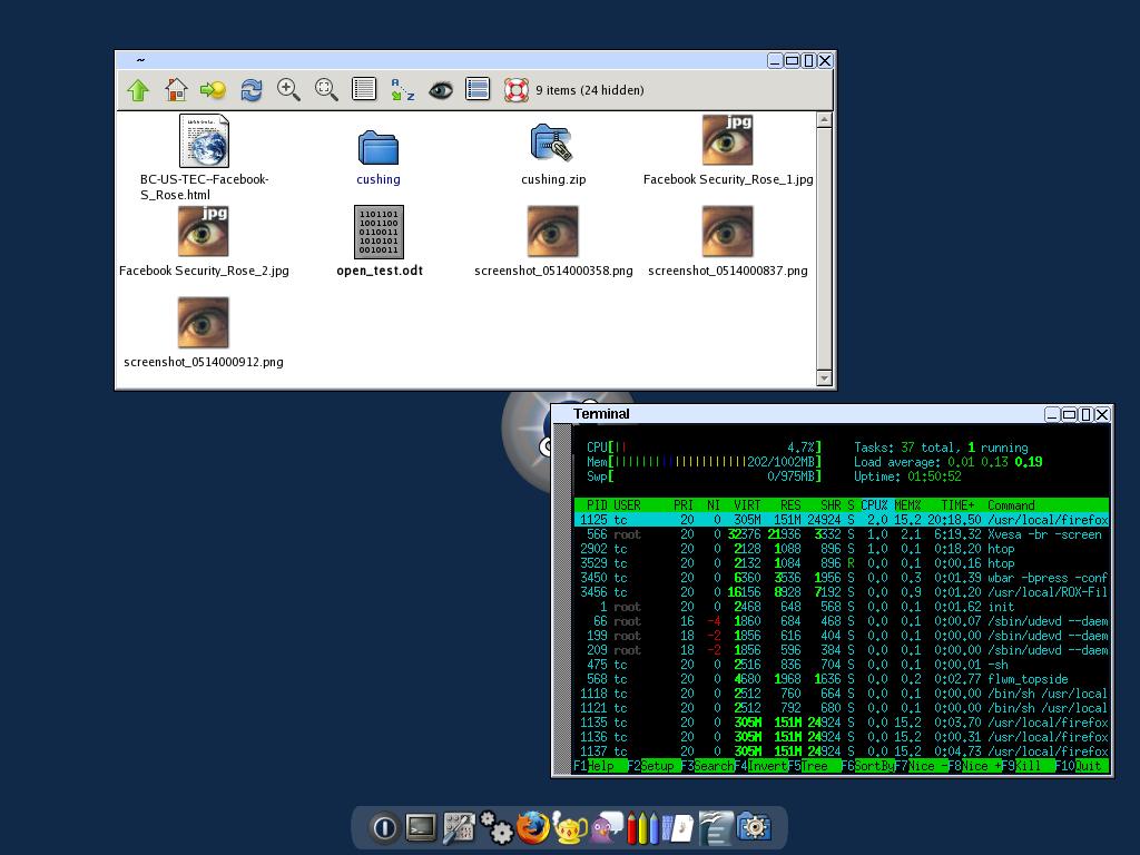 Tiny core linux 7-1