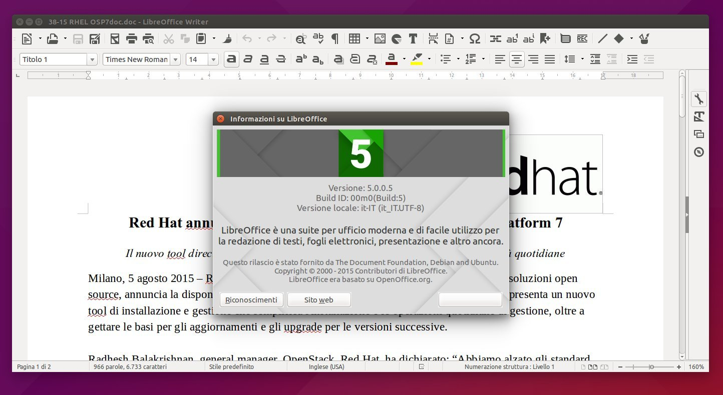 libreoffice 5-1