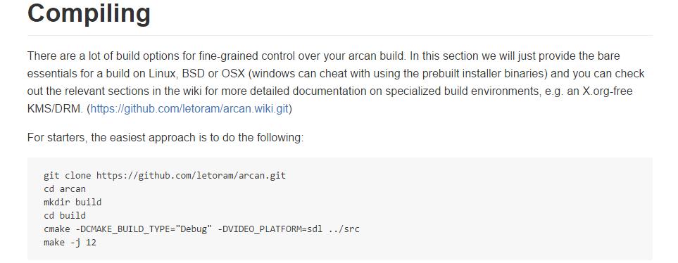 Arcan - 1