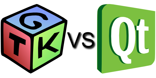 Qt vs GTK framework - logo