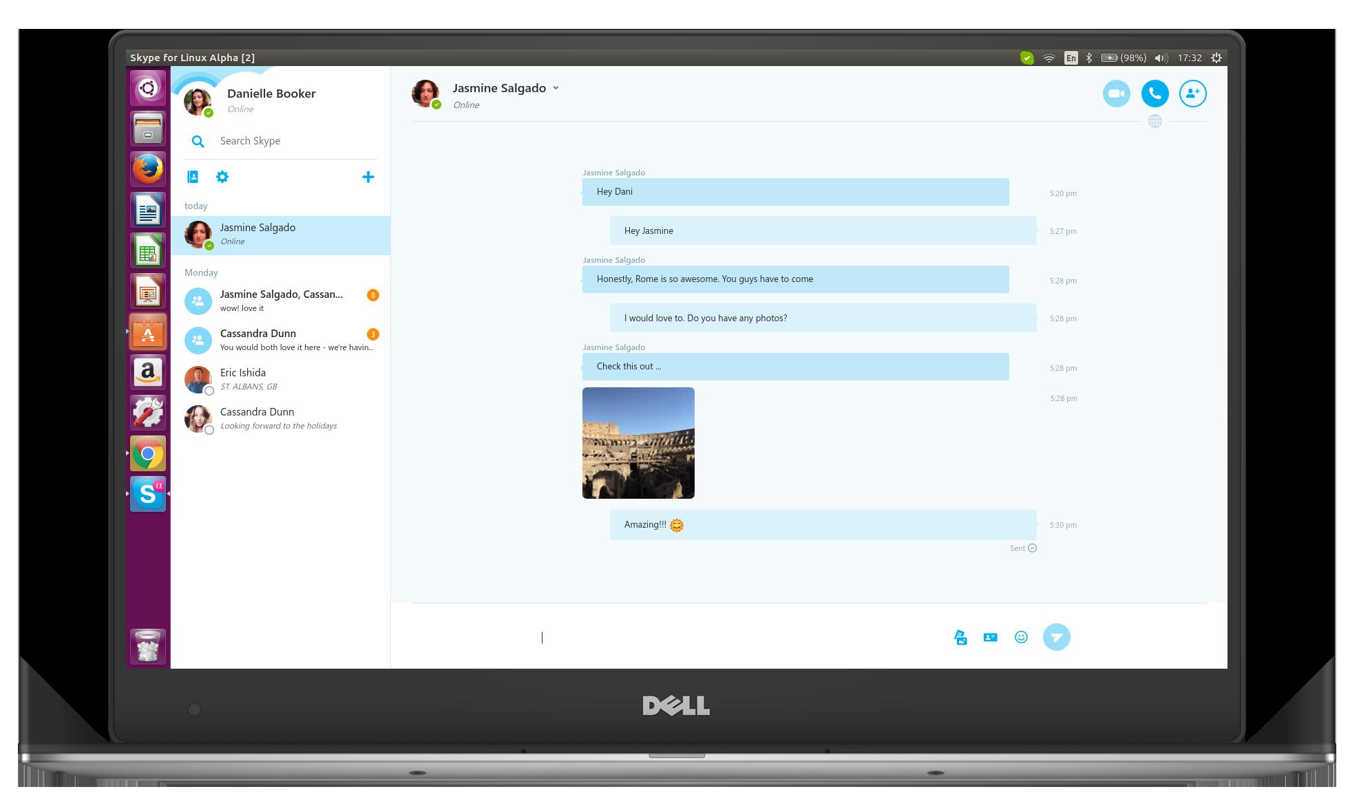 skype client linux
