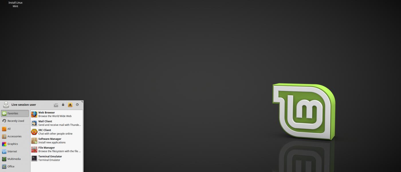 xfce- linux mint 18 beta