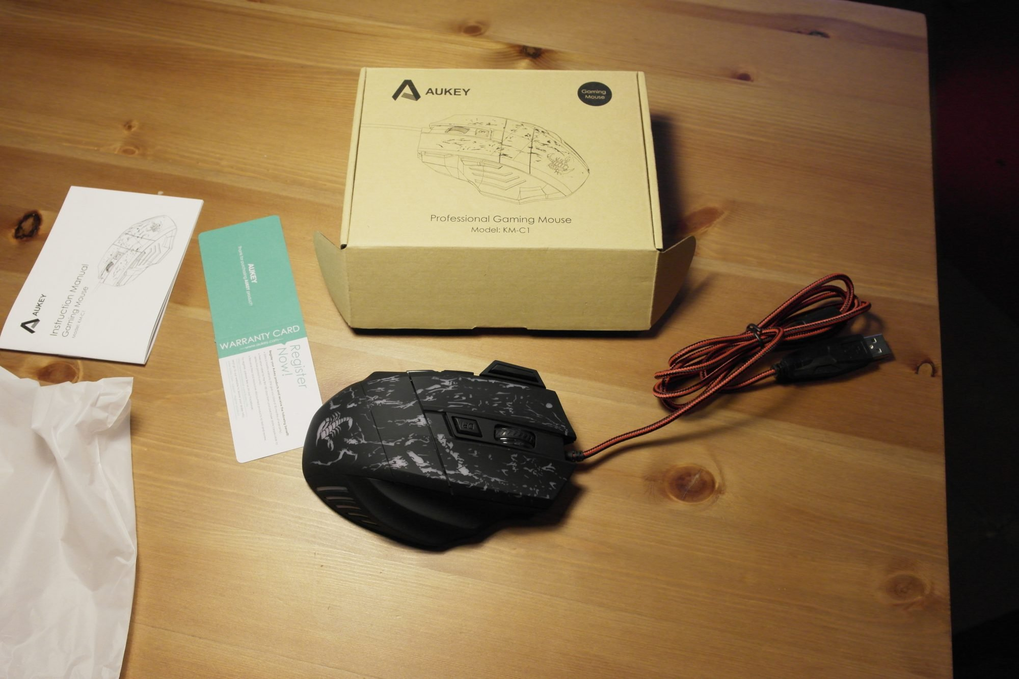 mouse Aukey KM-C1