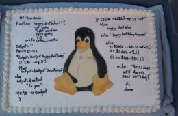 happy birthday linux