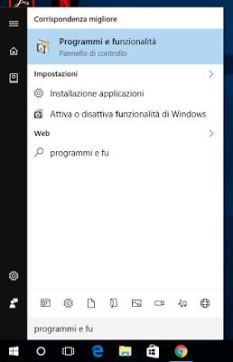 programmi e funzionalità