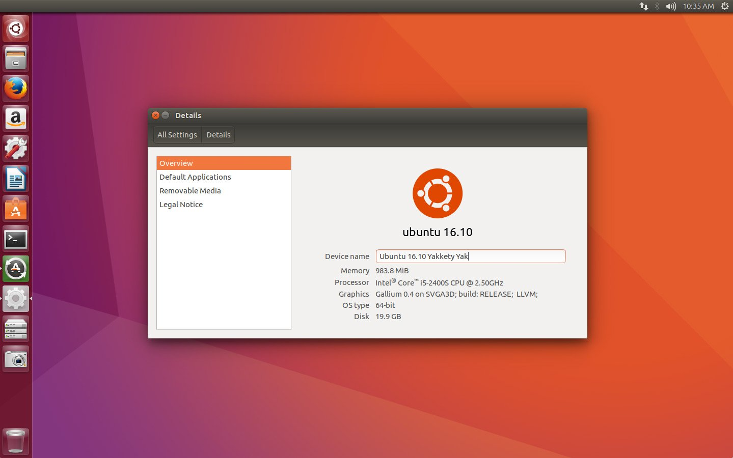 ubuntu 16.10 beta 2