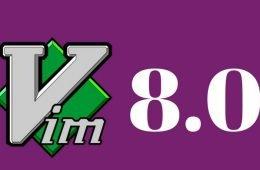 vim 8.0