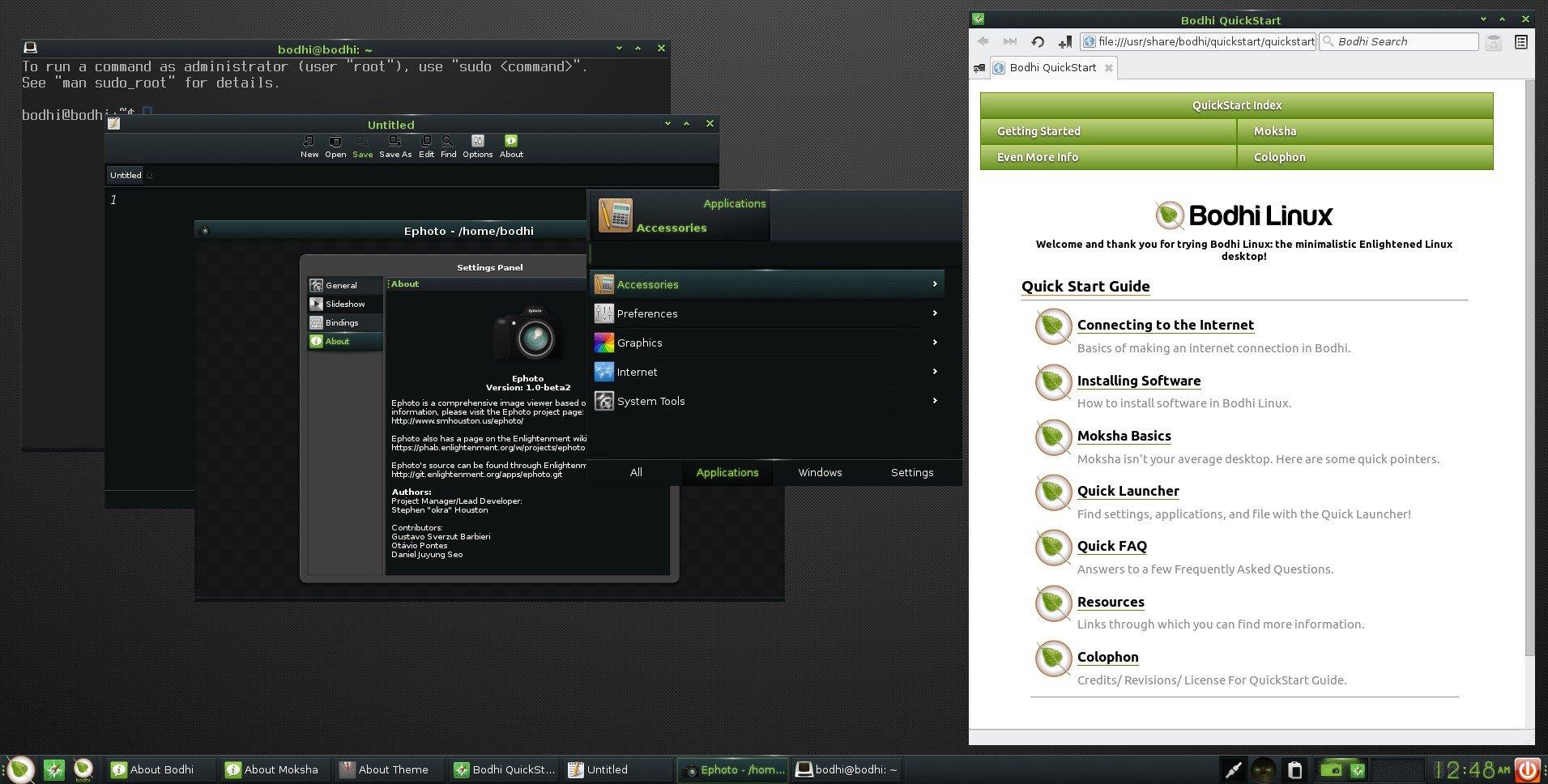 bodhi linux 4.0.0