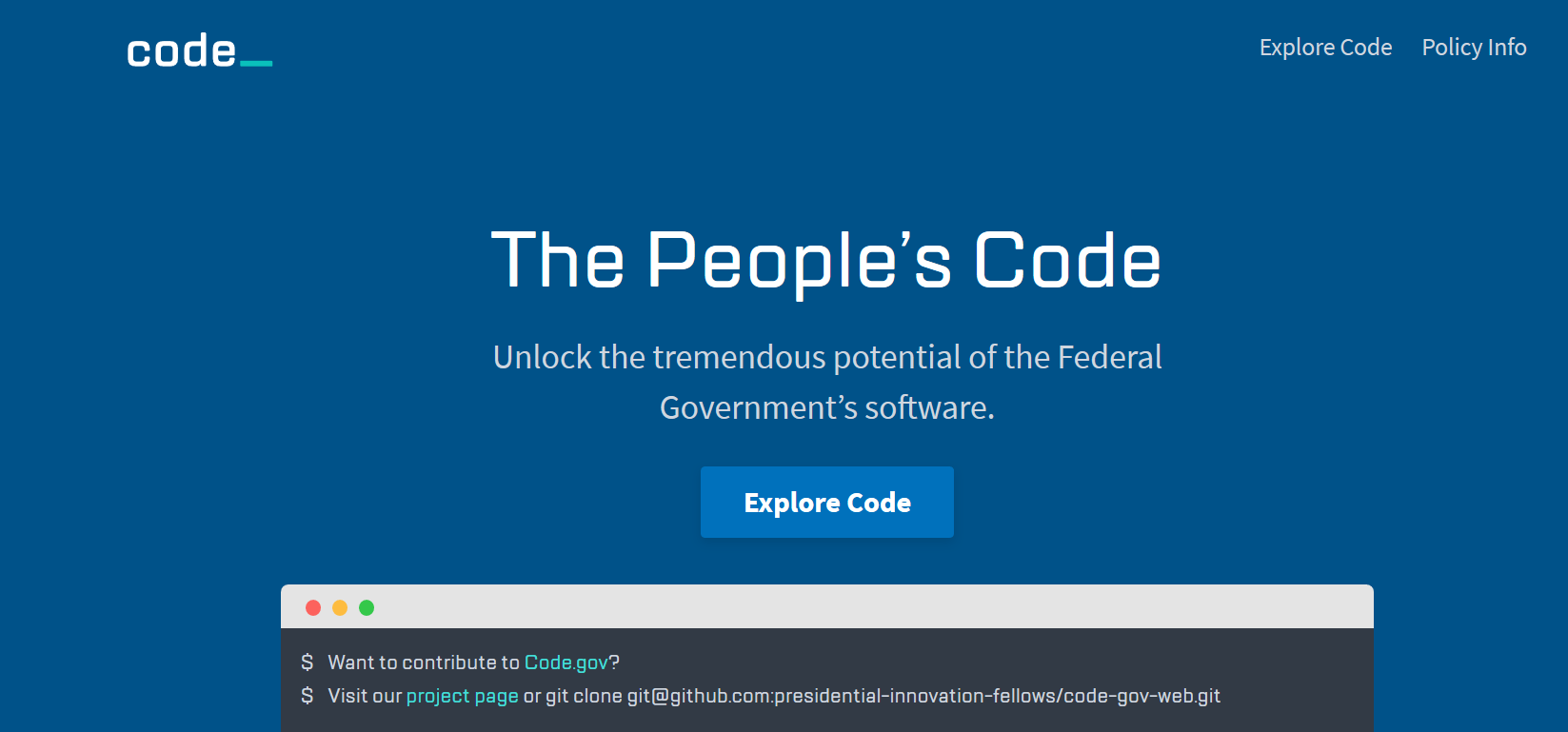 code gov