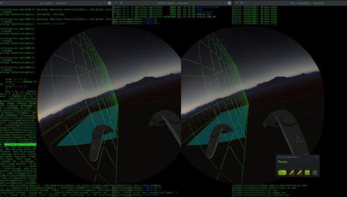 realtà virtuale linux