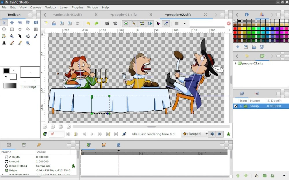 synfig free-animations