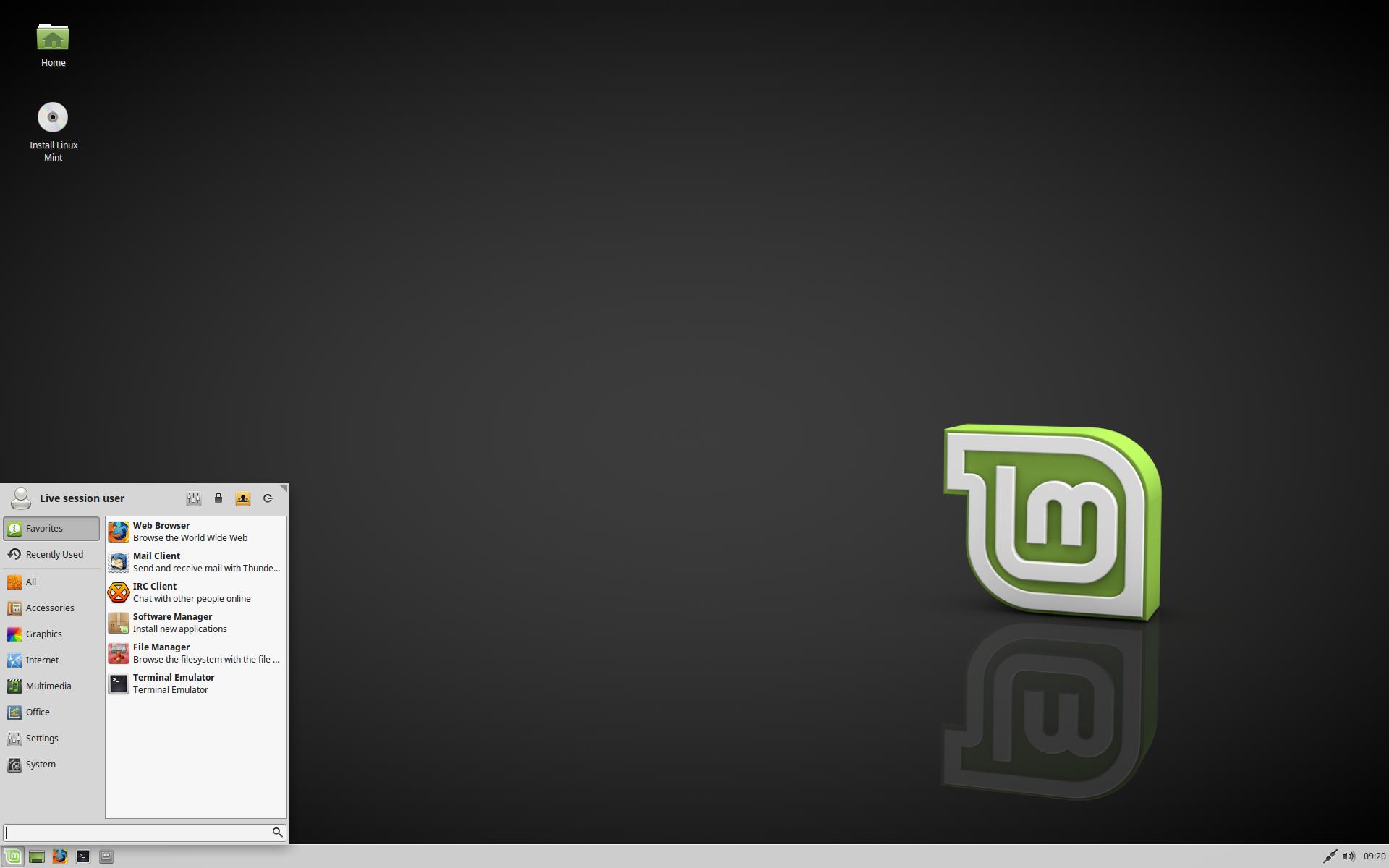 Linux Mint 18.1 xfce