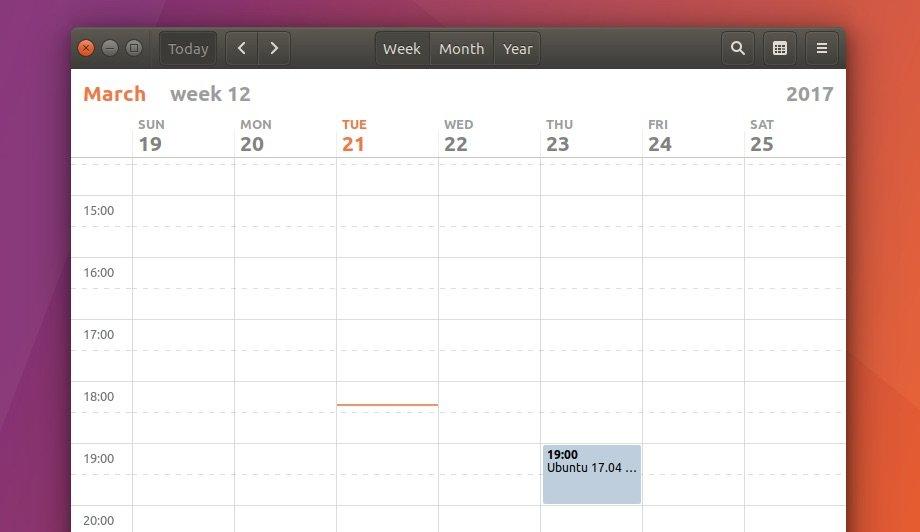 gnome-calendar-on-ubuntu-17