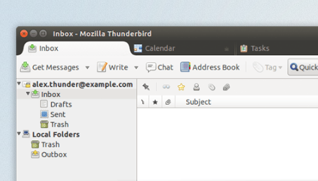 thunderbird on-ubuntu