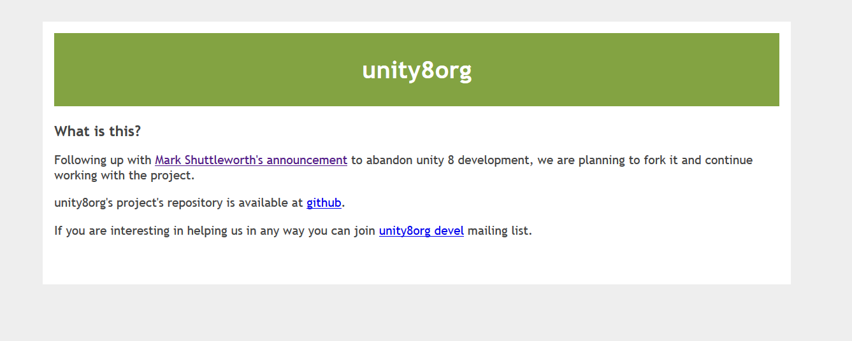 unity8