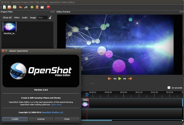 OpenShot 2.3.2
