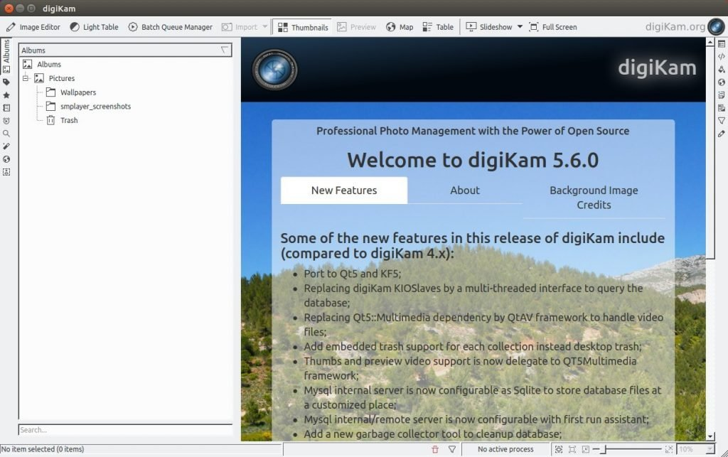 digikam 5.6.0