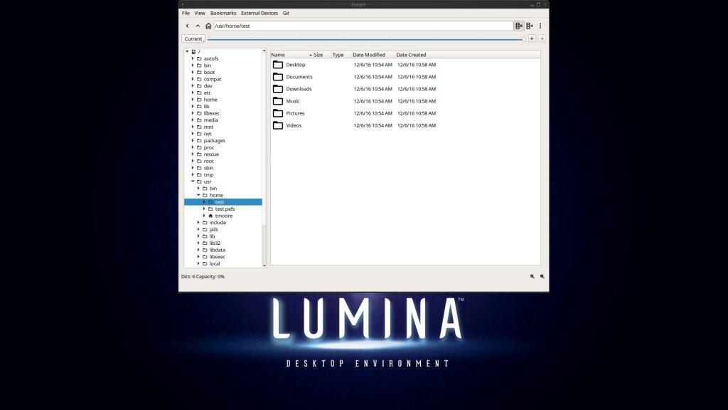 Lumina desktop 1.3