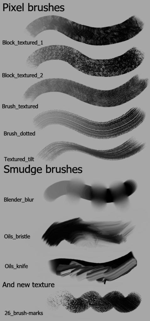 krita 3.2 brush