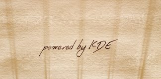 powered by KDE