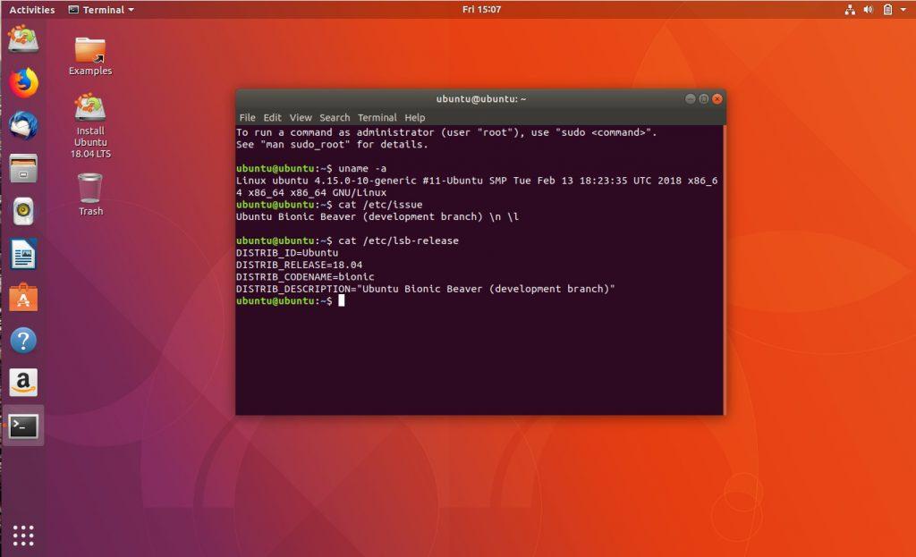 ubuntu 14.04 ubuntu 18.04 lts
