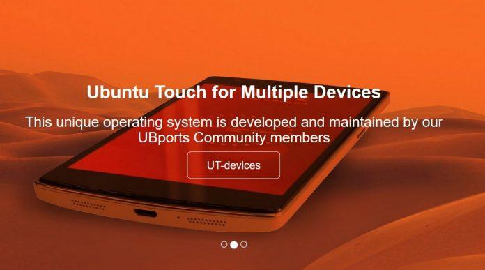 ubuntu touch ubports