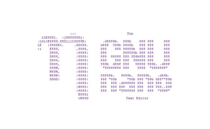 nano 3.0 editor