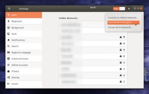 ubuntu 18.04 wifi hotspot