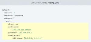 ubuntu 18.04 ip statico