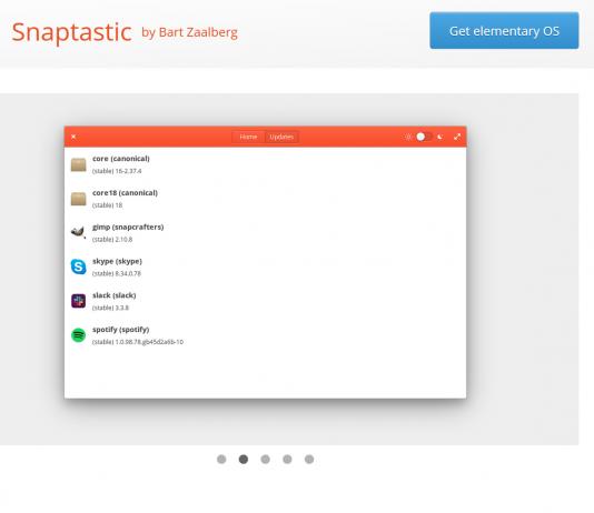 snaptastic snap app elementary os