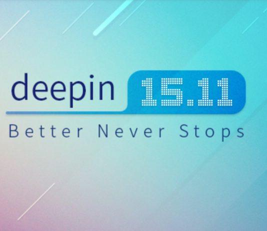 deepin 15.11