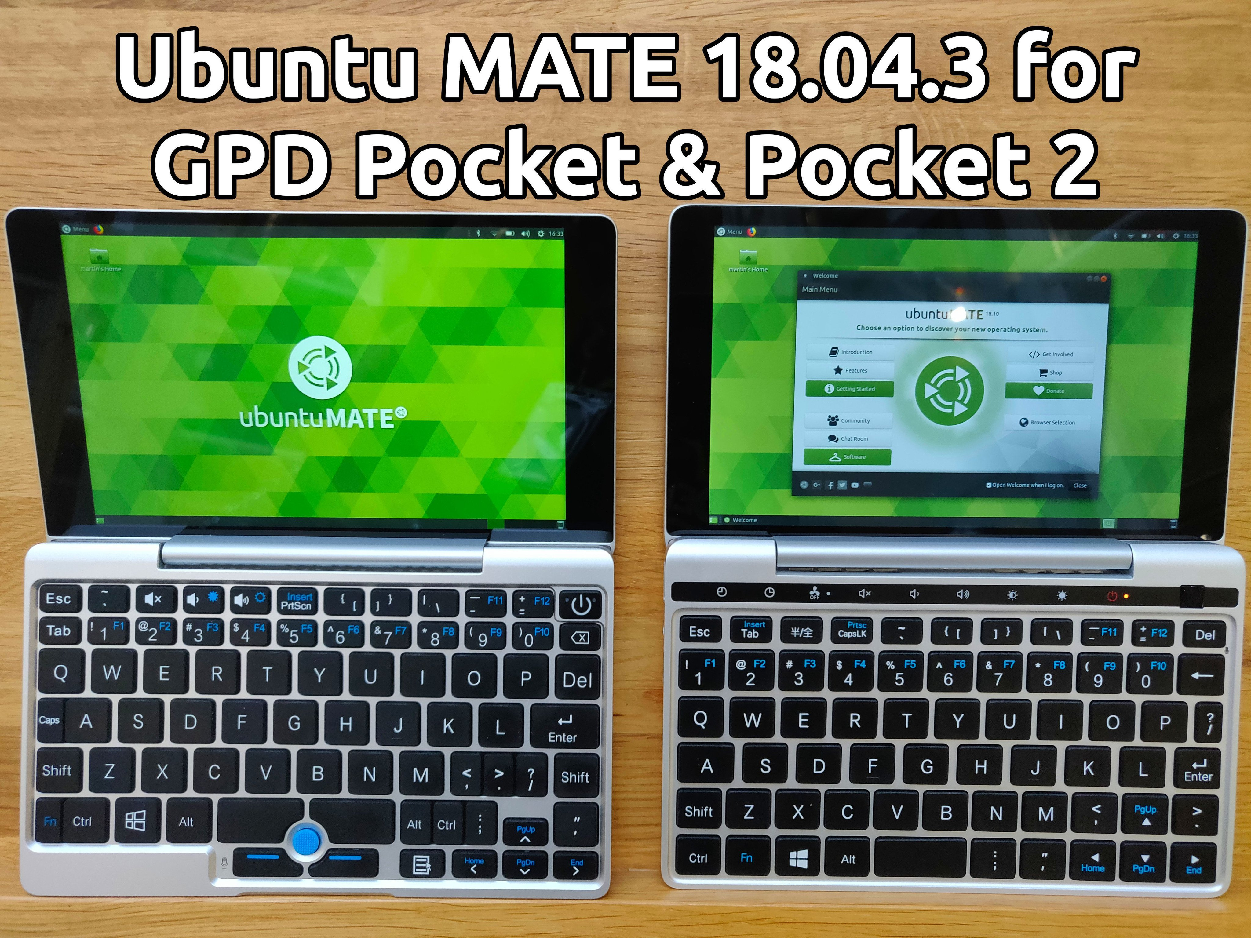 ubuntu mate gpd pocket