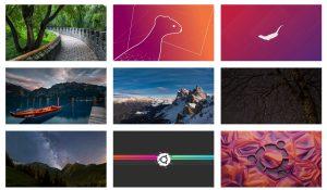 ubuntu 19.10 wallpapers eoan ermine